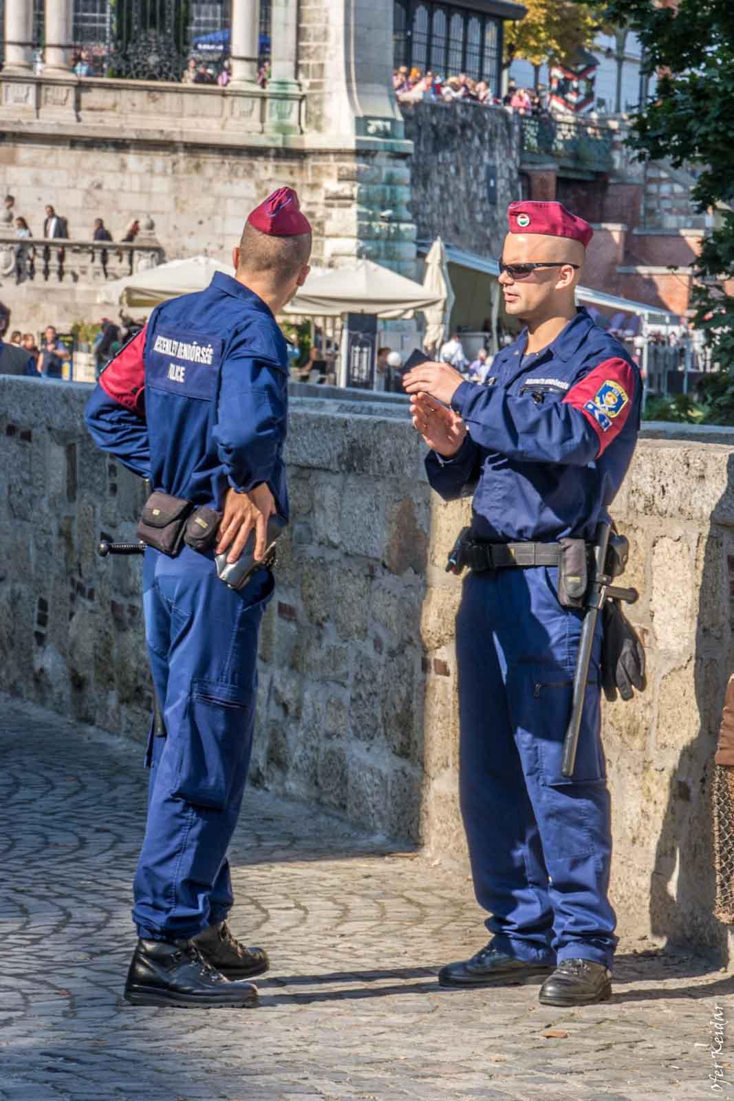 עוד גברים במדים - גבעת המצודה, בודפשט