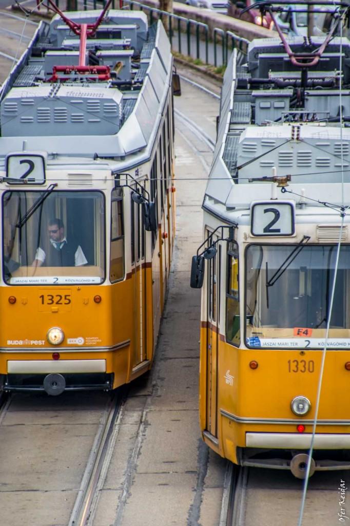 בלוג הצילום בבבודפשט הונגריה - תחבורה ציבורית מעוררת קנאה