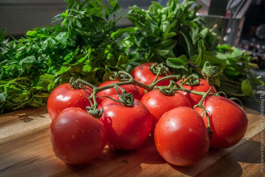 מתכון לעגבניות ממולאות - בלוג הצילום של עופר קידר