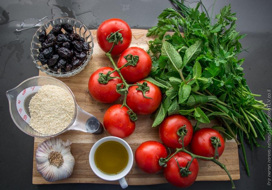 איך מכינים עגבניות ממולאות? - בלוג הצילום של עופר קידר