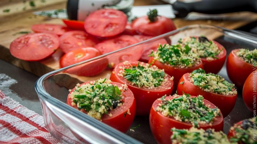 איך מכינים עגבניות ממולאות - בלוג הצילום של עופר קידר