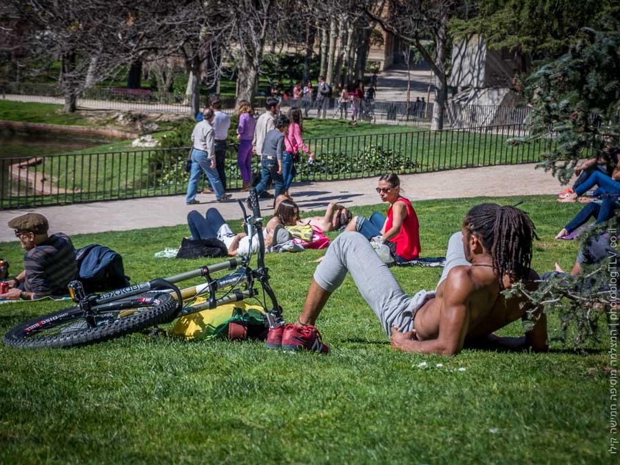 חופשה במדריד | פארק רטירו Retiro Park |  בלוג הצילום של עופר קידר