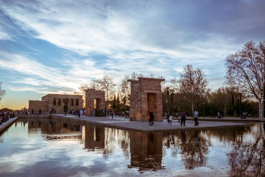 חופשה במדריד | Temple of Debod | מקדש דבוד |בלוג הצילום של עופר קידר