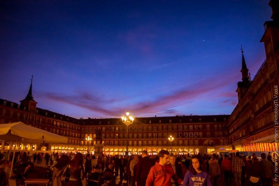 חופשה במדריד | plaza mayor פלאסה מאיור (כיכר מאיור)| בלוג הצילום של עפר קידר