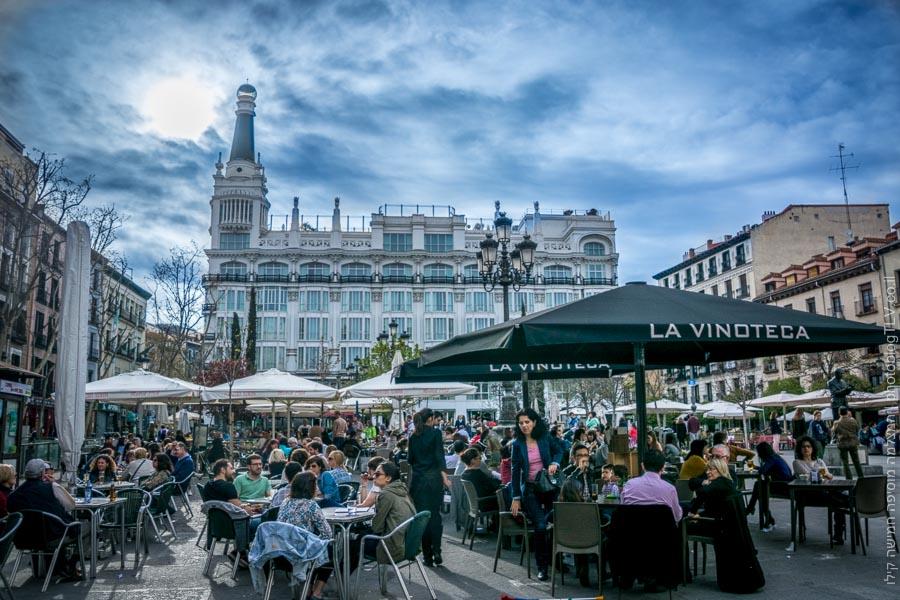 חופשה במדריד למטייל | Plaza de Santa Ana כיכר סנטה אנה, מדריד