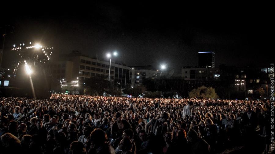 שרים בכיכר | יום הזכרון / יום העצמאות | כיכר רבין | בלוג הצילום של עפר קידר