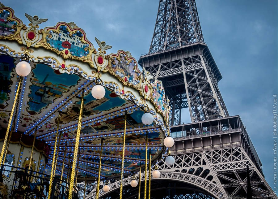 מגדל אייפל, פריז, צרפת | ראיתי עיר עוטפת אור - חופשה בפריז | בלוג הצילום של עפר קידר