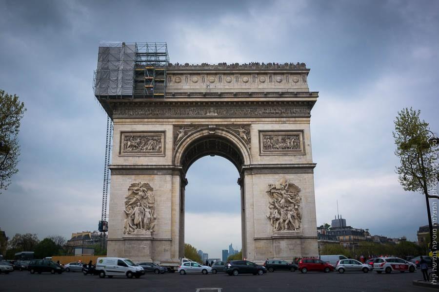 תמונה של שער הנצחון, פריז, צרפת | ראיתי עיר עוטפת אור - חופשה בפריז | בלוג הצילום של עפר קידר