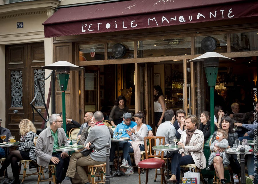 תמונה של בית קפה בפריז, צרפת | ראיתי עיר עוטפת אור - חופשה בפריז | בלוג הצילום של עפר קידר