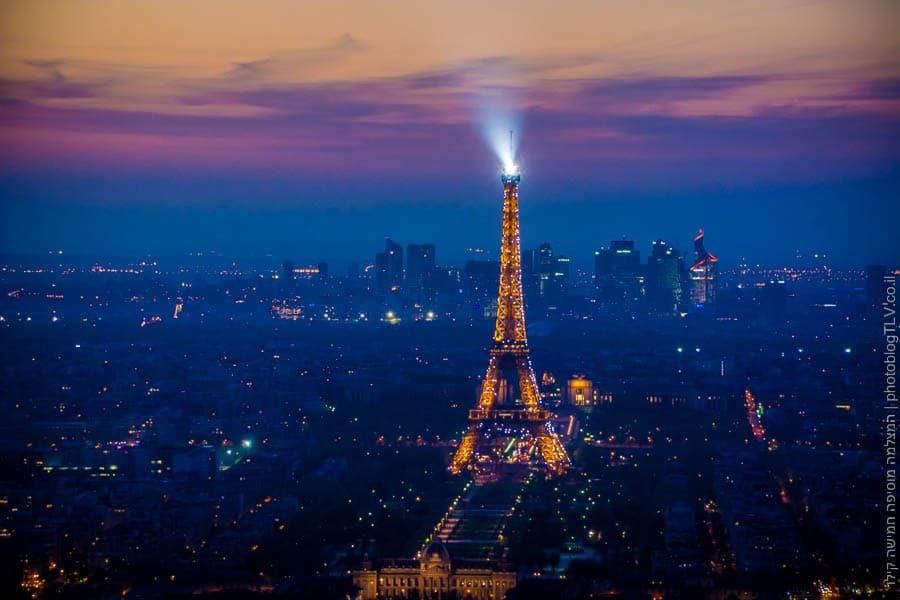 תמונה של פריס ומגדל אייפל  פריס, צרפת   ראיתי עיר עוטפת אור - חופשה בפריז   בלוג הצילום של עפר קידר