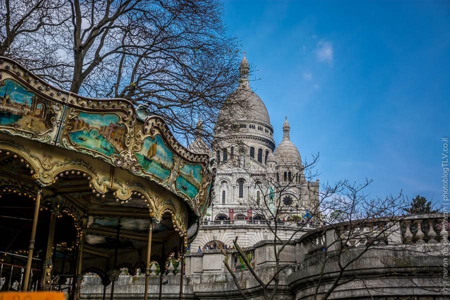 מונמרטרה (Montmartre), פריז, צרפת | ראיתי עיר עוטפת אור - חופשה בפריז | בלוג הצילום של עפר קידר