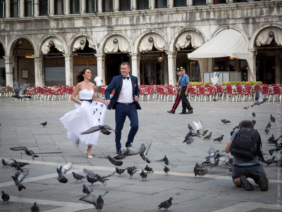 צילומי חתונה בכיכר סן מרקו - ונציה למטייל, איטליה | בלוג הצילום של עופר קידר