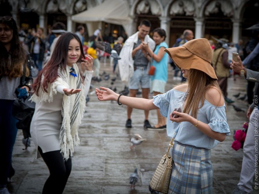 תיירים בכיכר סן מרקו - ונציה למטייל, איטליה | בלוג הצילום של עופר קידר