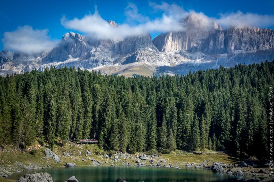 carezza lake   אגם קארצה   הרי הדולומיטים, איטליה   בלוג הצילום של עפר קידר