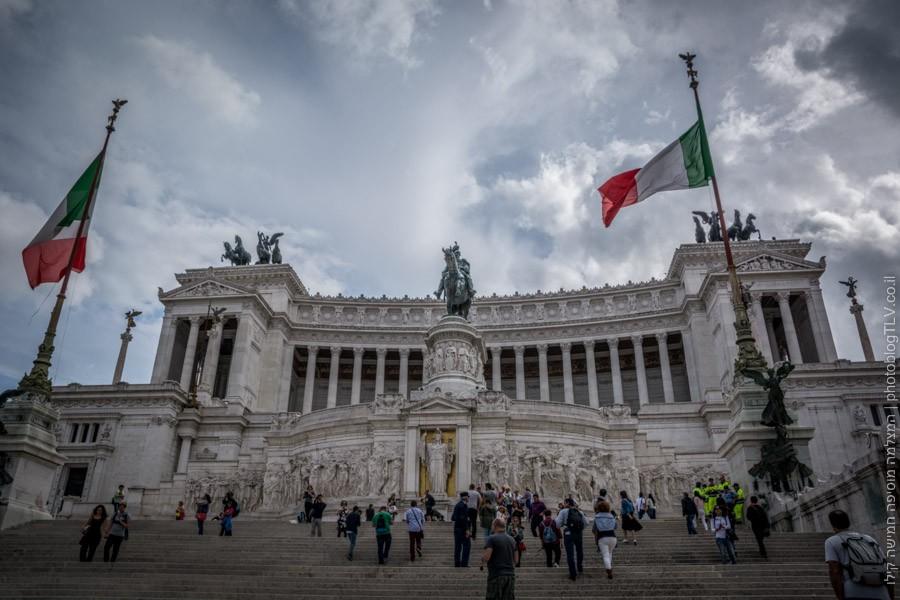 Monumento Nazionale a Vittorio Emanuele , רומא, איטליה |בלוג הצילום של עופר קידר