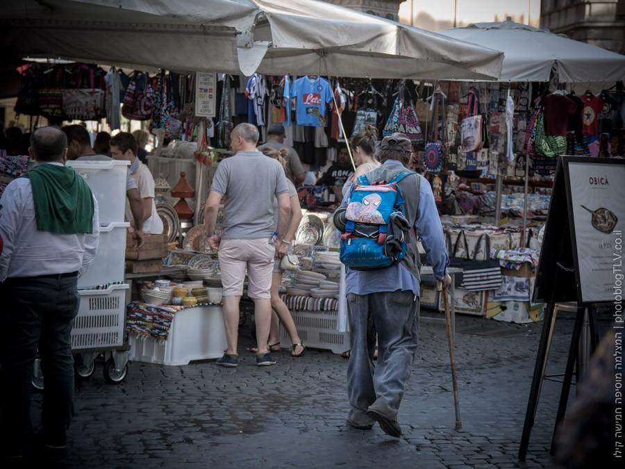 איטלקים ברומא   בלוג טיולים - המצלמה מוסיפה חמישה קילו