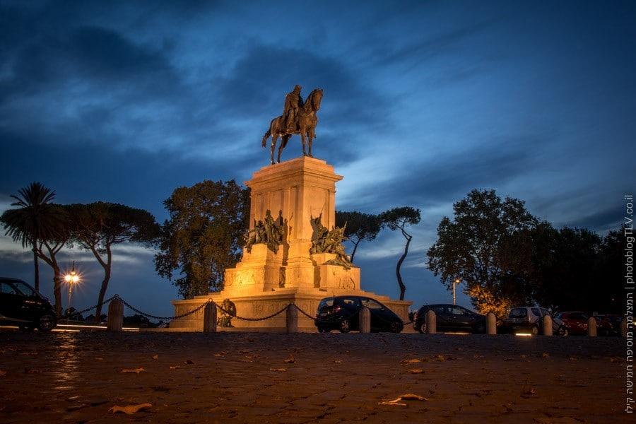 כיכר גריבלדי, רומא - בלוג טיולים וצילום: המצלמה מוסיפה חמישה קילו