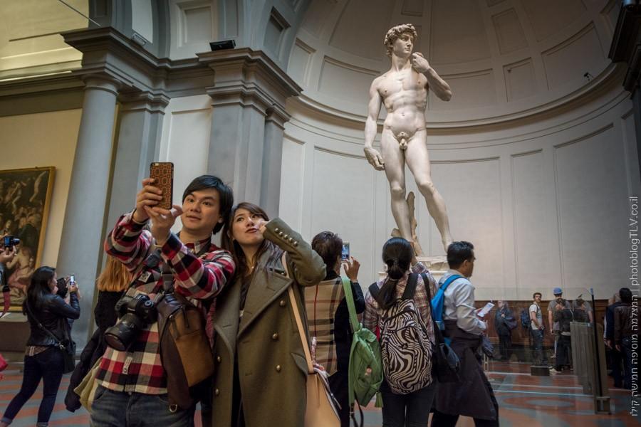 פירנצה - פסל דוד | חופשה בפירנצה | בלוג הצילום של עפר קידר