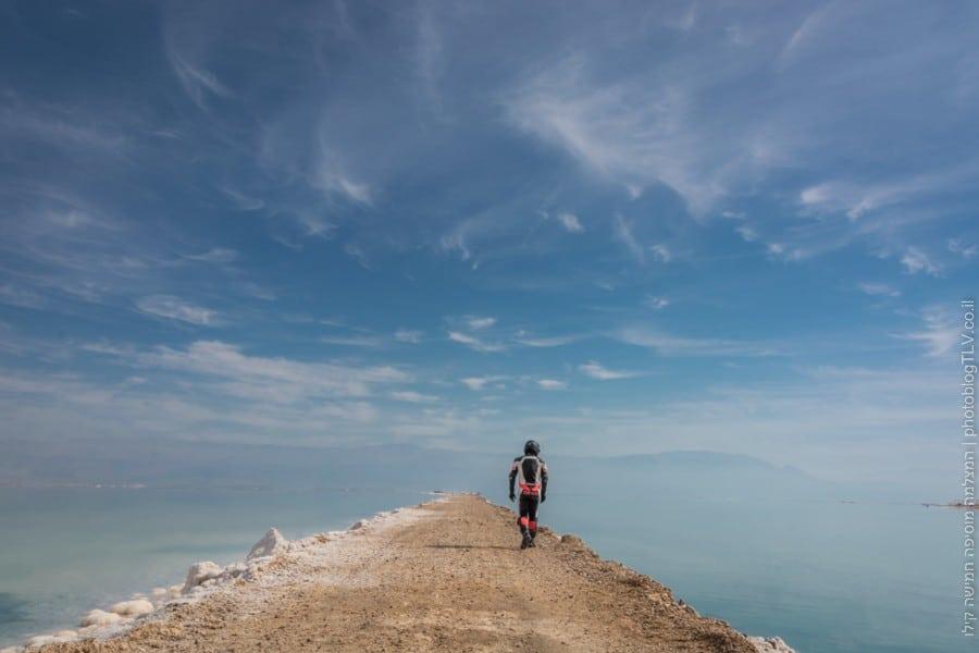 ים המלח | דין גופר | המצלמה מוסיפה חמישה קילו