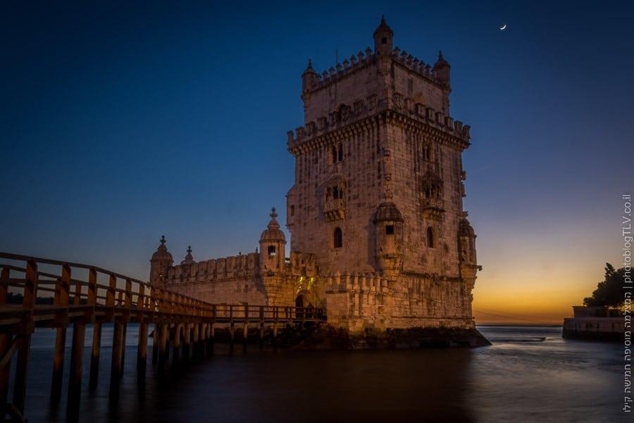 Torre de Belém - ליסבון אטרקציות למטייל, פורטוגל | המצלמה מוסיפה חמישה קילו |בלוג הצילום של עפר קידר