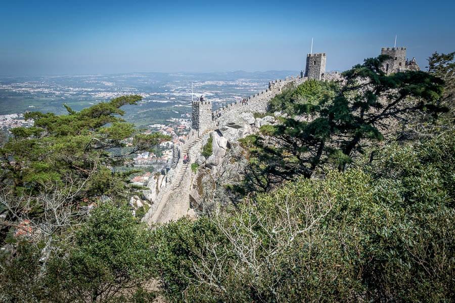 Castelo dos Mouros - סינטרה טיול יום מליסבון, פורטוגל | המצלמה מוסיפה חמישה קילו |בלוג הצילום של עופר קידר