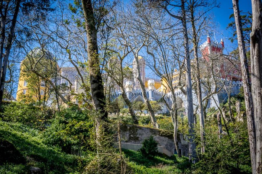 Pena National Palace - סינטרה טיול יום מליסבון, פורטוגל | אטרקציות בסינטרה