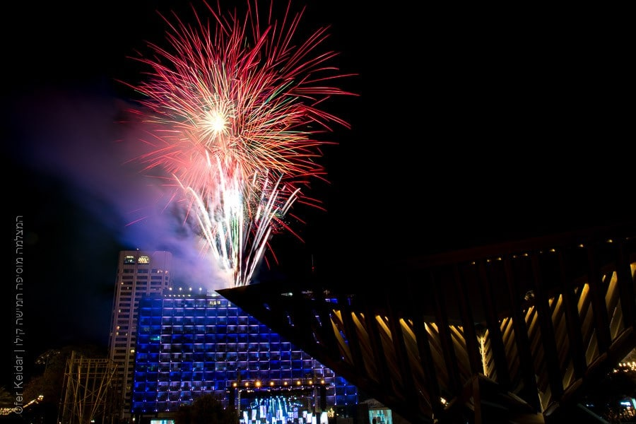 יום העצמאות, זיקוקים בכיכר רבין | המצלמה מוסיפה חמישה קילו |בלוג הצילום של עופר קידר