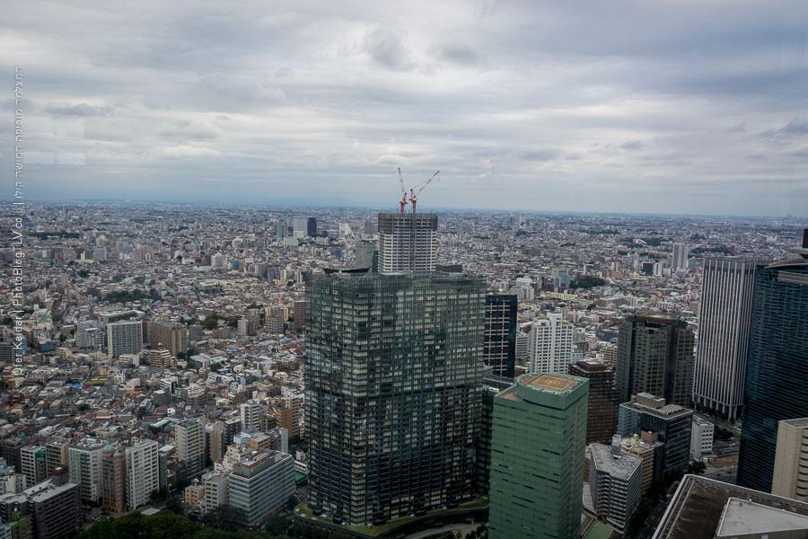 יפן למטייל: הנוף ממגדלי מטרופולין, אחת האטרקציות של טוקיו | צולם במסגרת טיול ליפן | המצלמה מוסיפה חמישה קילו | בלוג הצילום של עפר קידר