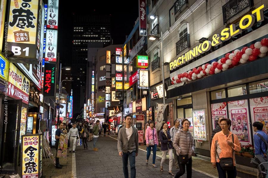 יפן למטייל: איזור שינג'וקו, אטרקציות בטוקיו | צולם במסגרת טיול ליפן | המצלמה מוסיפה חמישה קילו | בלוג הצילום של עפר קידר