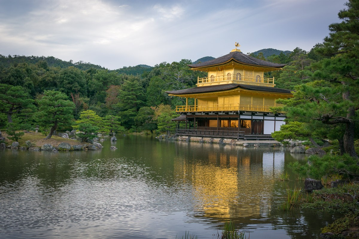טיול לקיוטו, קיוטו, יפן | מקדש קינקקו-ג'י | Kinkaku-ji | המצלמה מוסיפה חמישה קילו | בלוג הצילום של עופר קידר