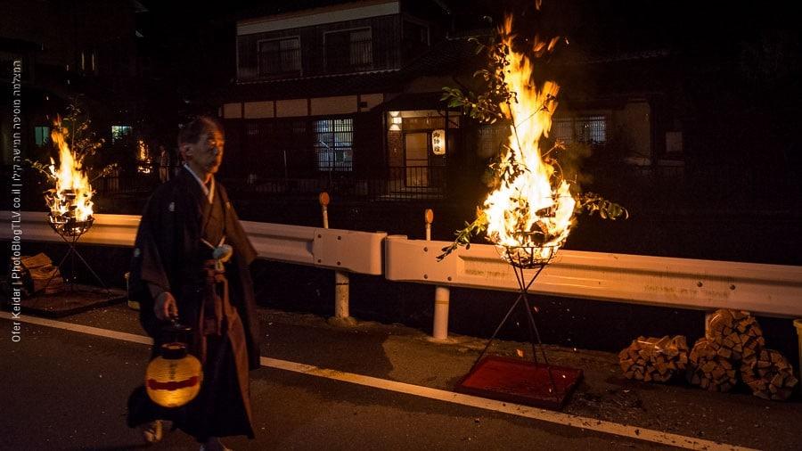 טיול לקיוטו, פסטיבל האש בקוראמה - קוראמה ן | Kyoto, Japan| המצלמה מוסיפה חמישה קילו