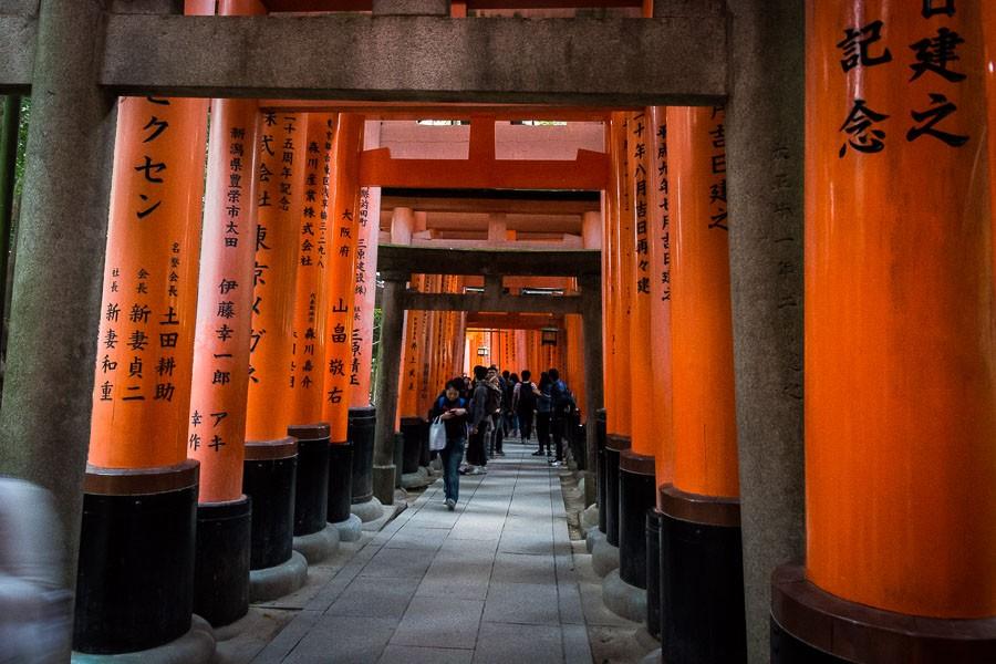 טיול לקיוטו, יפן | פושימי אינארי טאישה | Fushimi Inari-taisha | המצלמה מוסיפה חמישה קילו | בלוג הצילום של עופר קידר