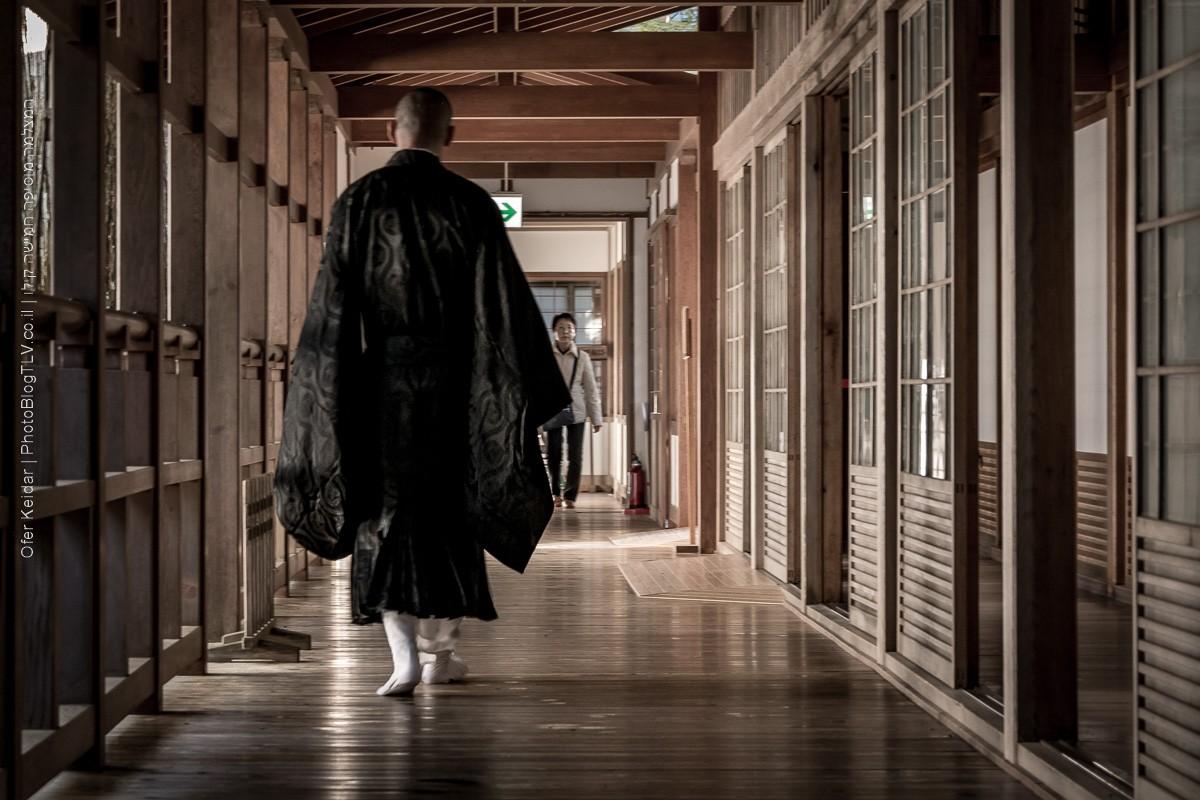 שוקובו - לינה במקדש בהר קויה (קויסאן), יפן   Koyasan, Koya, Japan   המצלמה מוסיפה חמישה קילו   בלוג הצילום של עופר קידר