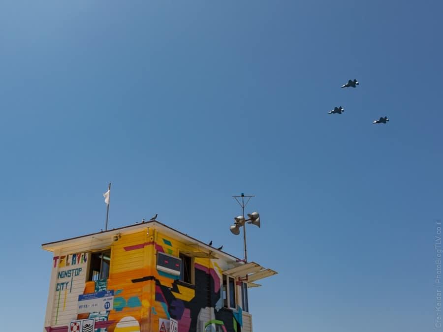 מטס חיל האוויר | יום העצמאות בתל אביב | המצלמה מוסיפה חמישה קילו | עפר קידר