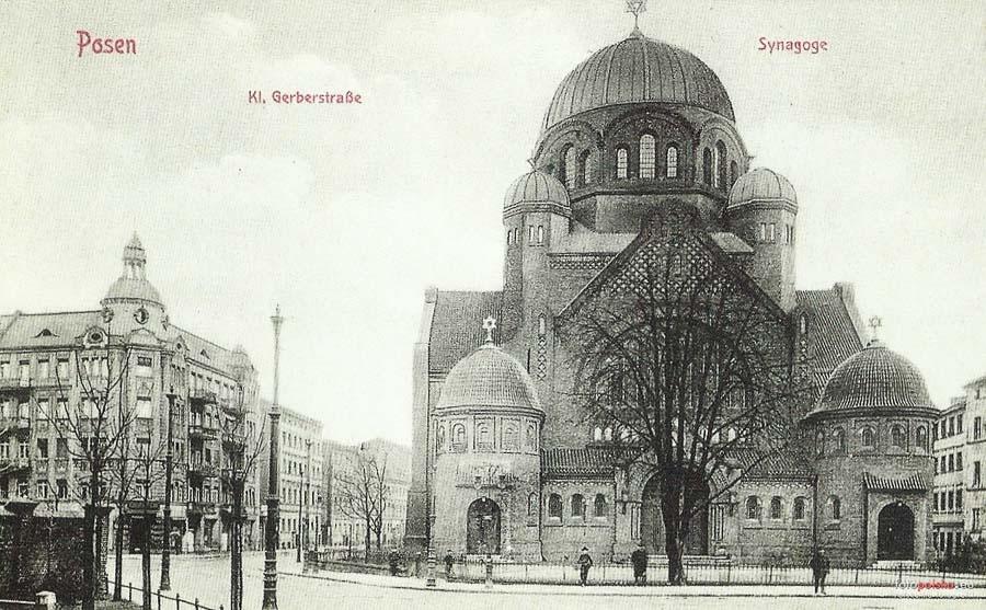 בית הכנסת פוזנן | מקור: fotopolska.eu | רשיון: Public Domain