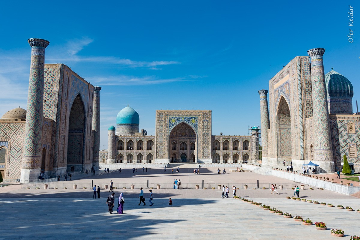 טיול לאוזבקיסטן  המצלמה מוסיפה חמישה קילו   עפר קידר