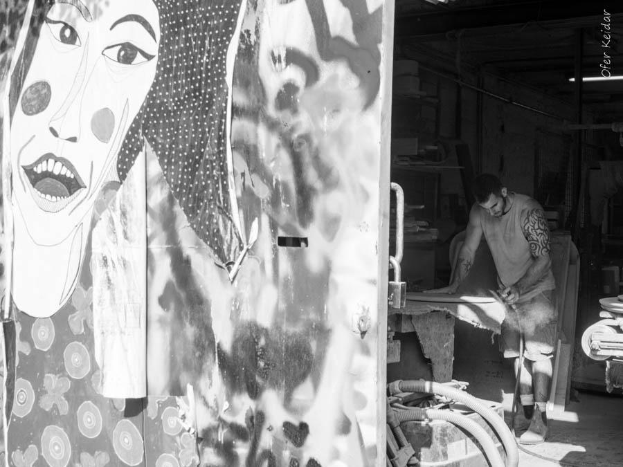 סיור אמנות רחוב בתל אביב