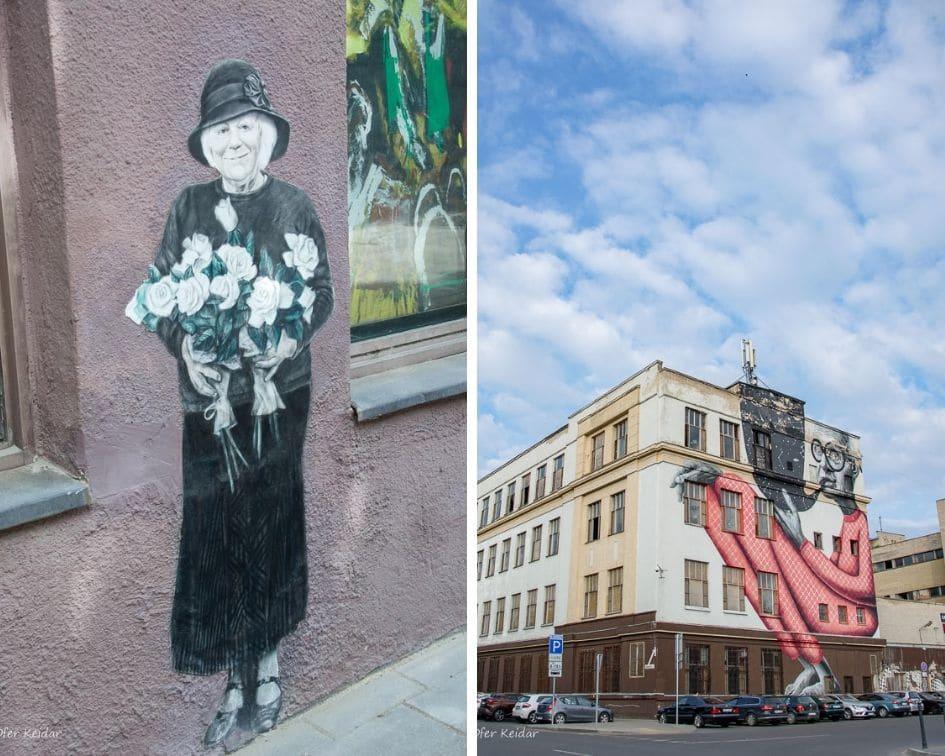 אמנות רחוב בקובנה, ליטא | קובנה למטייל - חופשה בקובנה | בלוג טיולים